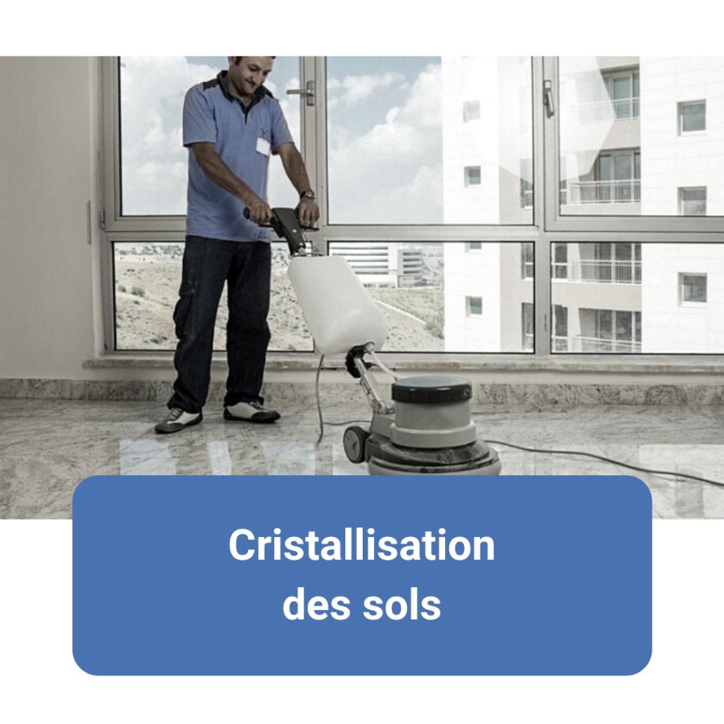 SFN service, prestation, nettoyage sols, service aux entreprises, cristallisation des sols